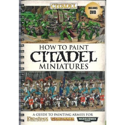 How to Paint Citadel Miniatures (2011) Ringbound book & DVD